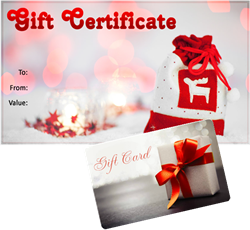 Gifts Certificates for Every Business