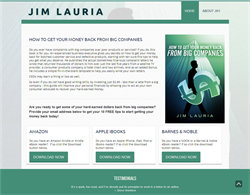 New Website Reflects Author's No Nonsense Approach