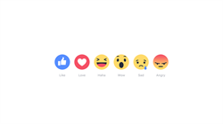 Facebook Adds Emoji  'Reactions' to 'Like' Button
