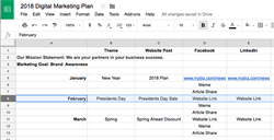 Your 2018 Digital Marketing Plan