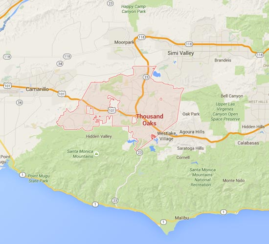 Conjeo Valley and Thousand Oaks, CA